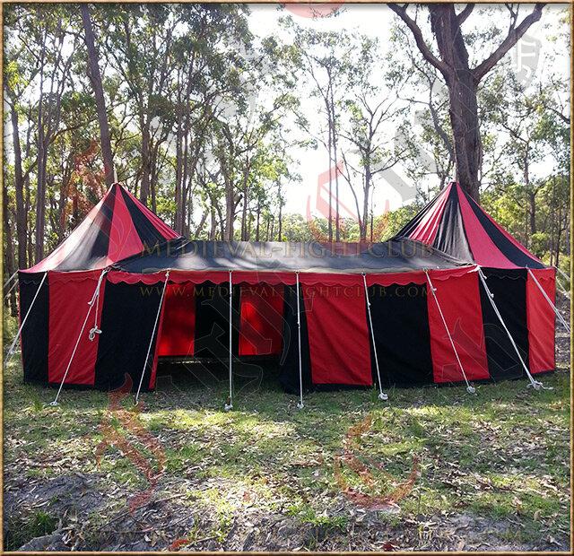 Double Tudor Tent